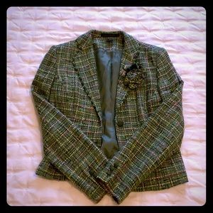 Express tweed blazer, size 8